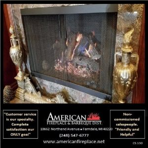 traditional inside mount Fireplace mesh Curtain Screens
