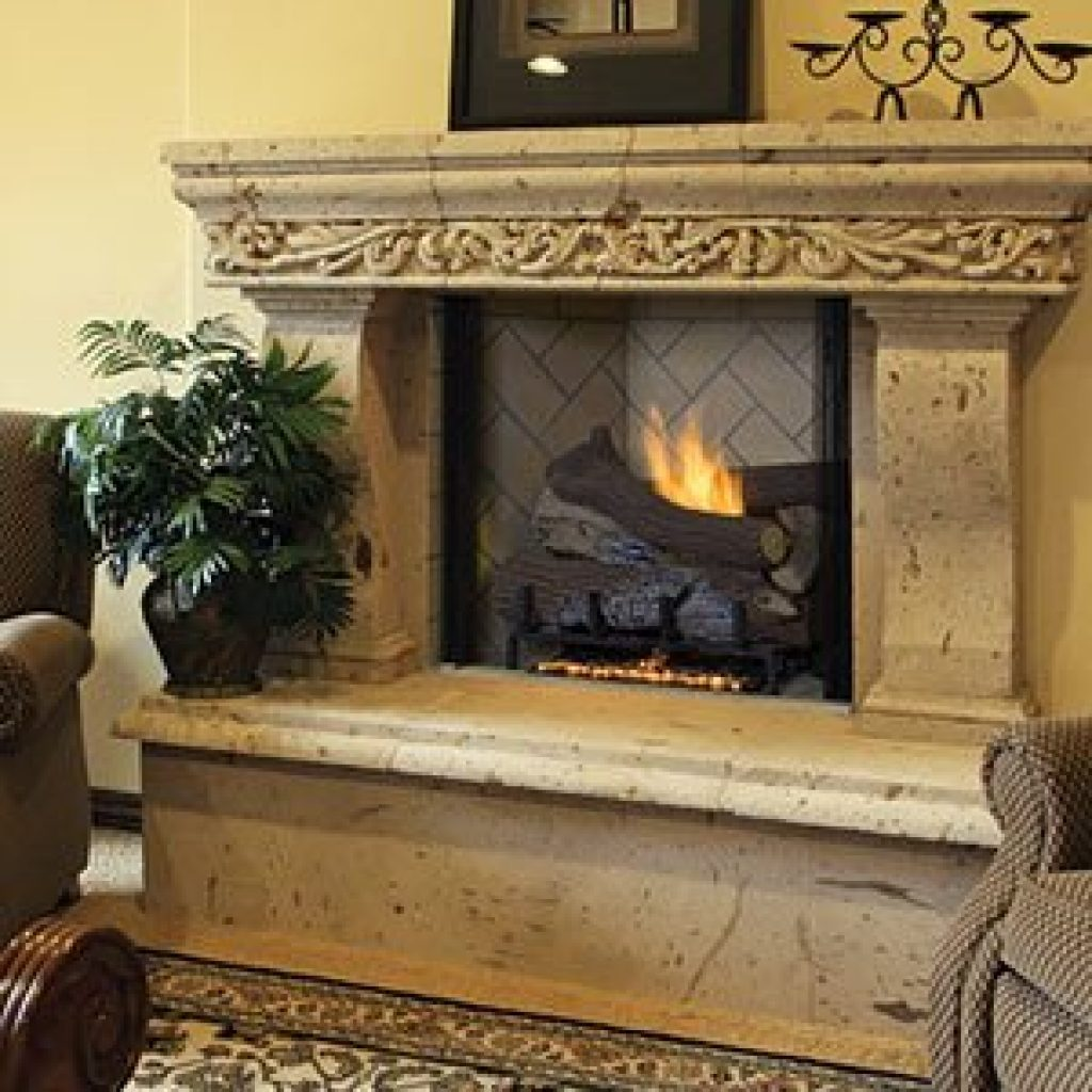 Astria Marquee Traditional Vent Free Gas Fireplace