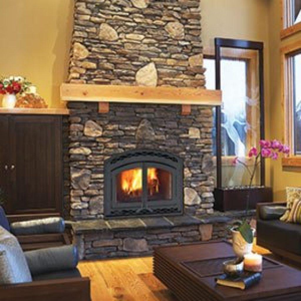 Astria Montecito Estate Wood Burning Fireplace - High Efficiency