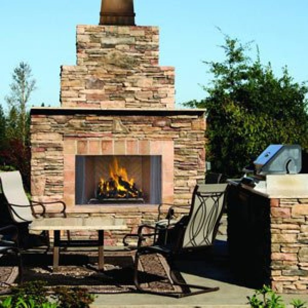 Astria Outdoor Wood Burning Fireplace - Oracle