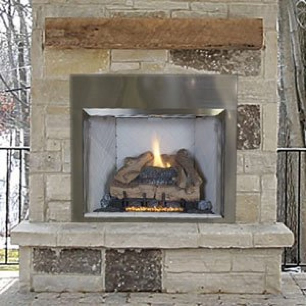 Astria VALIANT Outdoor Traditional Vent Free Gas Fireplace