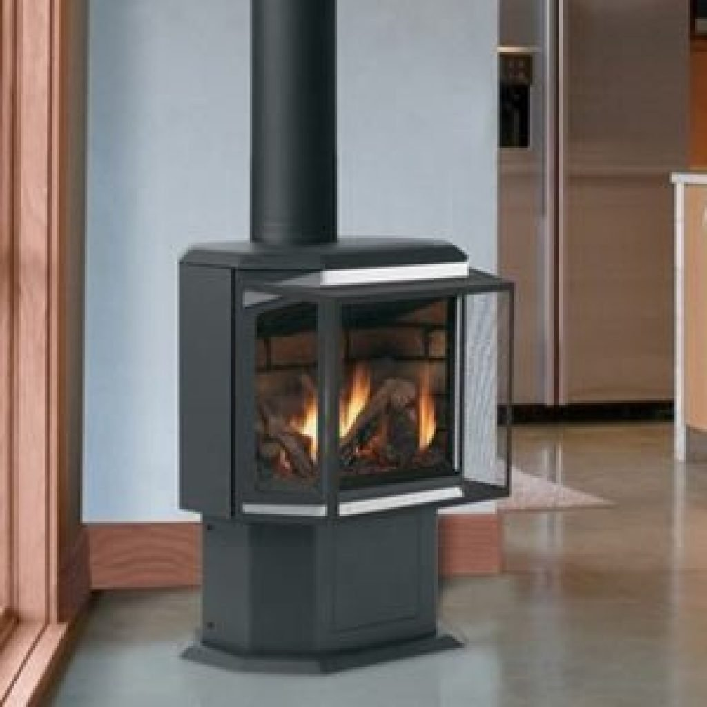 Ironstrike Contemporary Direct Vent Gas Stove Epic