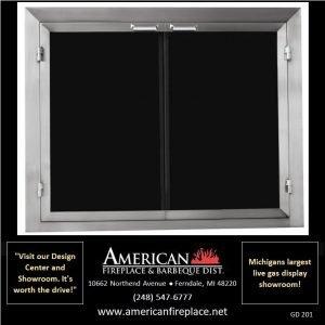 Fireplace Glass Doors GD-201