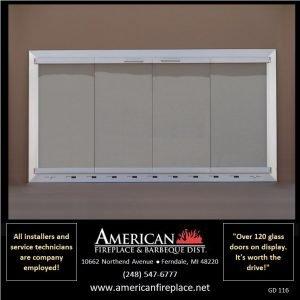 Fireplace Glass Doors GD-116