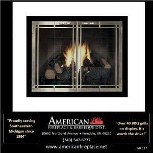 Fireplace Glass Doors GD-117