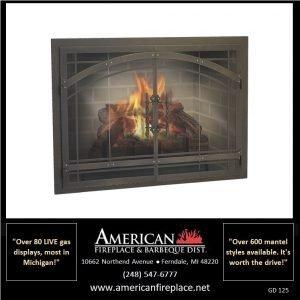 Fireplace Glass Doors GD-125