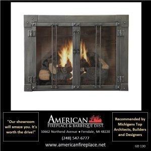 Fireplace Glass Doors GD-130