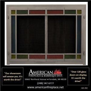 Fireplace Glass Doors GD-202