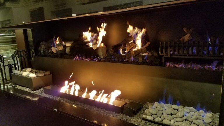 American Fireplace Showroom in Michigan