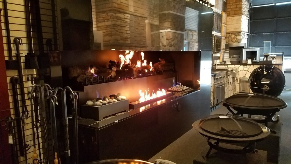 American Fireplace Showroom Barbeques Michigan