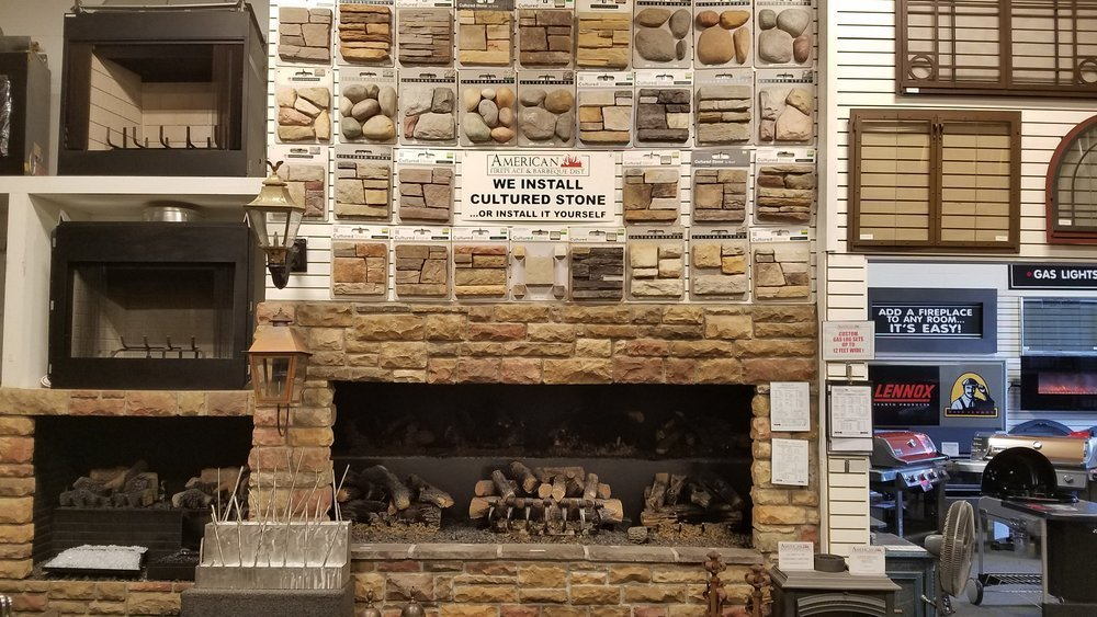 Many styles of Cultured Stone and Realstone are on display. Decorate your fireplace today!