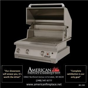 solaire dual burner stainless Barbeque