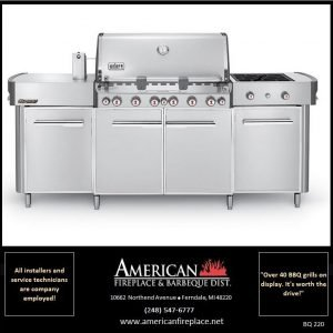 elite summit weber Barbeque-stainless steel