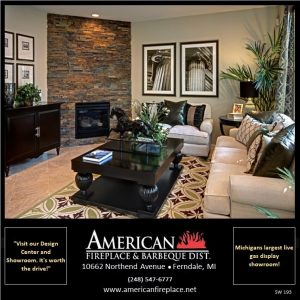 Cultured Stone fireplace surround for corner fireplace install