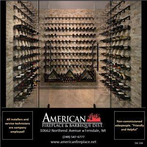 wow, Cultured Stone wine rack