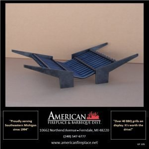 Ultra Modern Contemporary Steel Fireplace Grate, James T. Kirk Edition