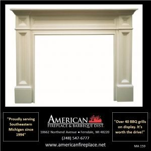imagine this Fireplace Mantel in your family room