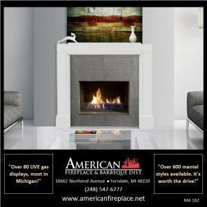 modern, white and sleek Fireplace Mantel