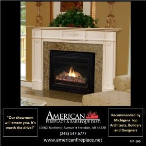 traditional shallow Fireplace Mantel