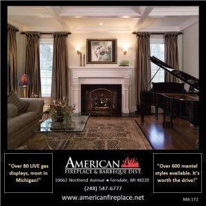 sophisticated white Fireplace Mantel