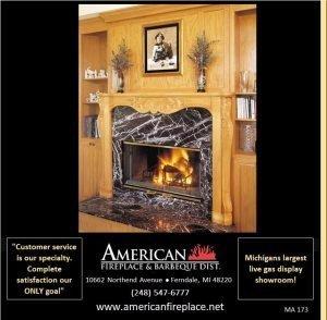classic oak Fireplace Mantel matches the oak paneling