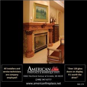 elegant hand carved Fireplace Mantel and pedestals