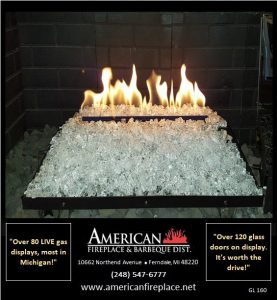 Gas Logs for Fireplaces GL-160