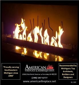 Gas Logs for Fireplaces GL-163