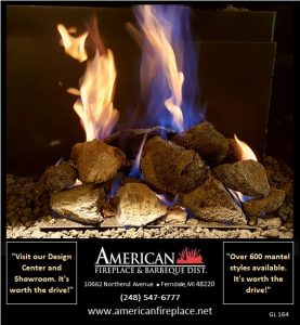 Gas Logs for Fireplaces GL-164