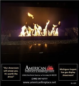 Gas Logs for Fireplaces GL-165