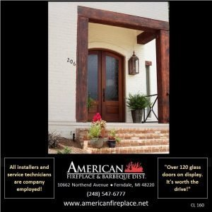 decorative copperm Outdoor Gas Lighting for the porch